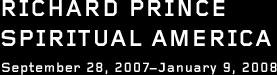 richard prince spiritual america
